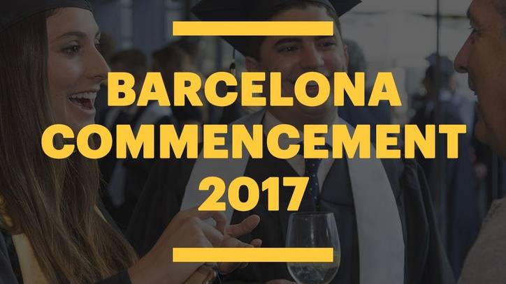 EU Barcelona Commencement Ceremony 2017