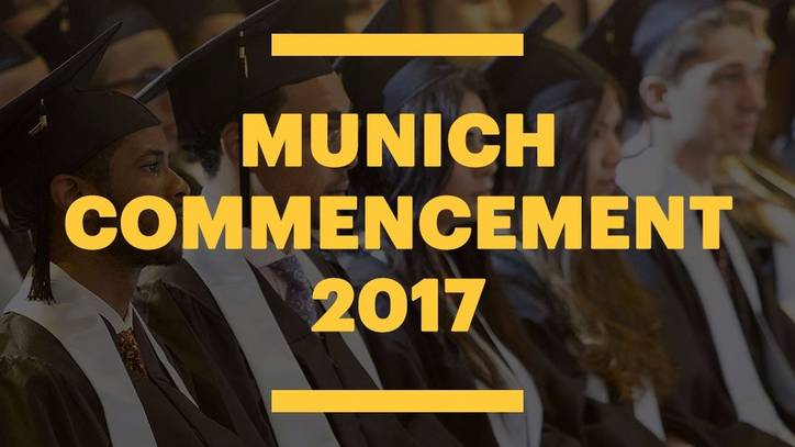Congratulations to our Munich graduates of 2017!