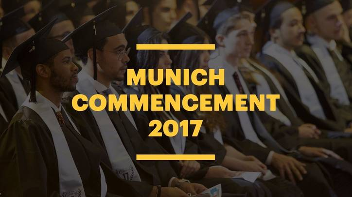 EU Business School Munich Commencement 2017