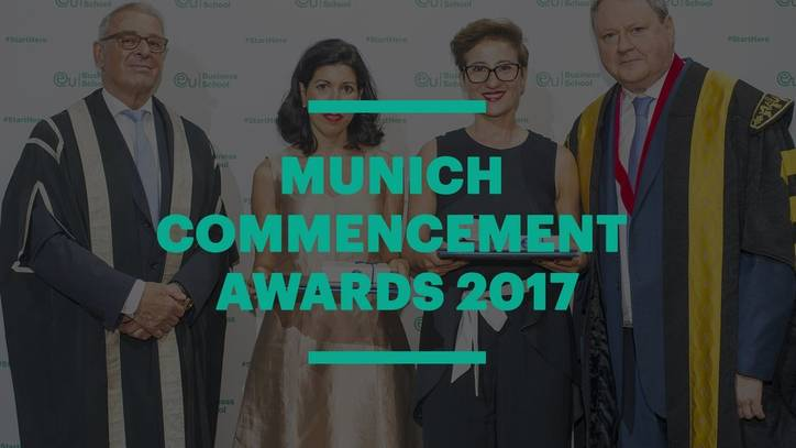 EU Munich Commencement Awards 2017