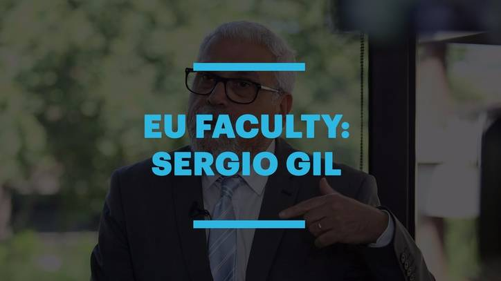 EU Lecturer Sergio Gil on Inspirational Education