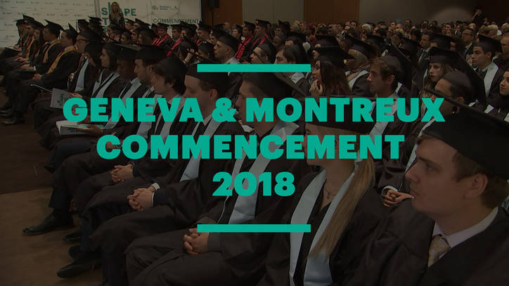 EU Business School Geneva & Montreux Graduation Ceremony 2018