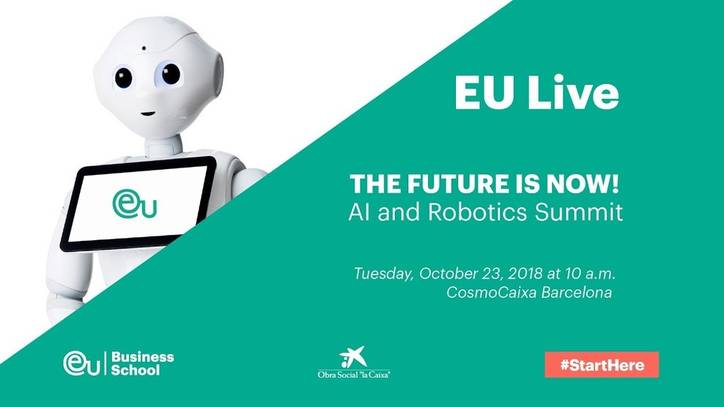 THE FUTURE IS NOW, AI and Robotics Summit