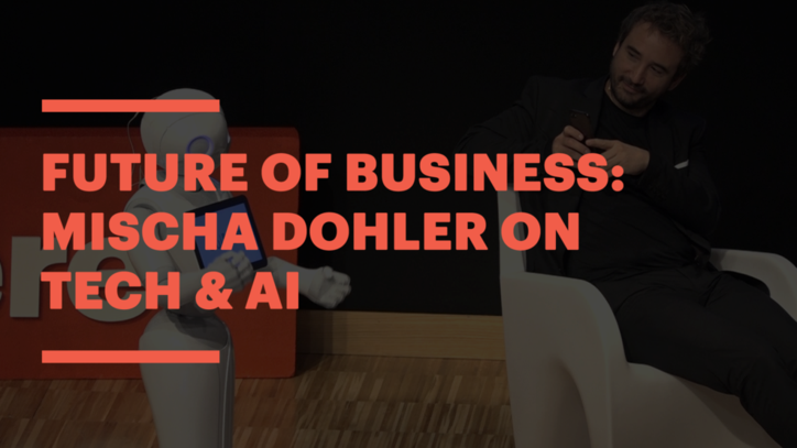 Mischa Dohler on AI and Disruptive Technologies at EU´s the Future Is Now