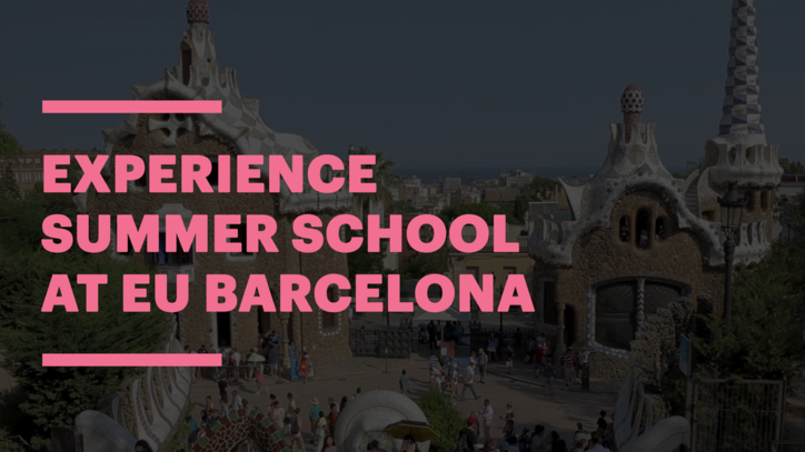 The Summer School Experience at EU Business School Barcelona