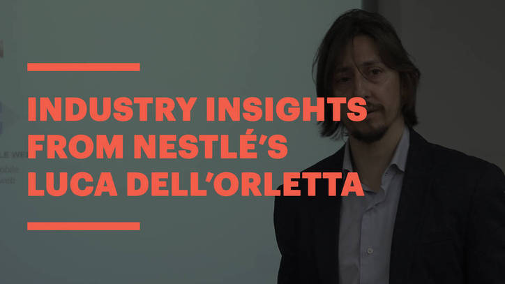 Nestlé's Luca Dell'Orletta on trends and most wanted skills