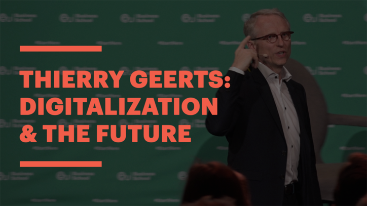 Google's Thierry Geerts Talks about Digitalis, Tech & the Digital Revolution