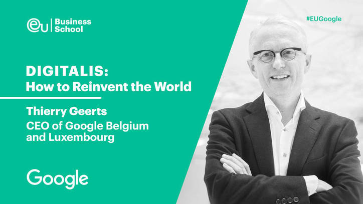 Digital Transformation & Reinvention | Full conference - Thierry Geerts, Google