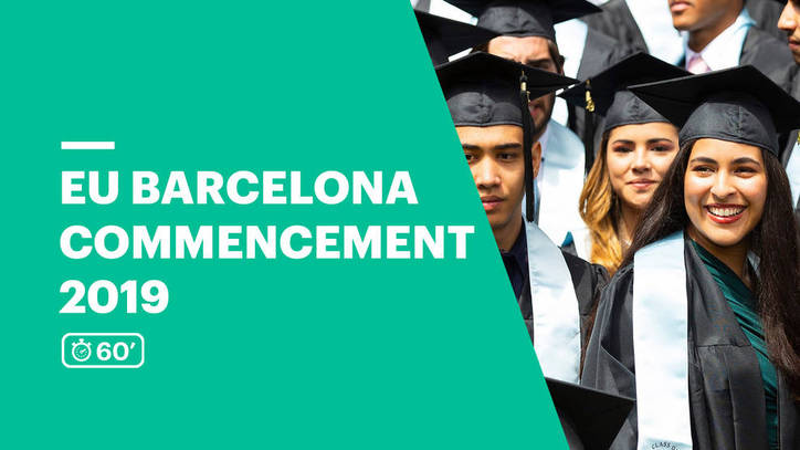 EU Business School Barcelona Commencement Ceremony 2019