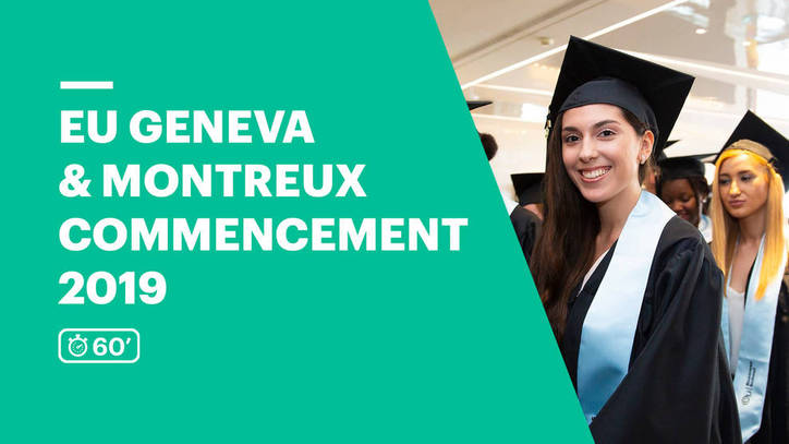 EU Business School Switzerland Commencement Ceremony 2019