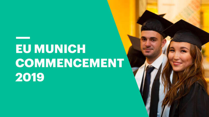 Commencement Ceremony 2019 | EU Business School Munich