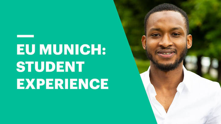 EU Business School Munich with Abdulmuttalib Sani Mohammad