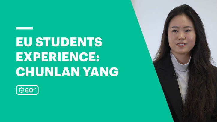 EU Business School Student Review | Chunlan Yang