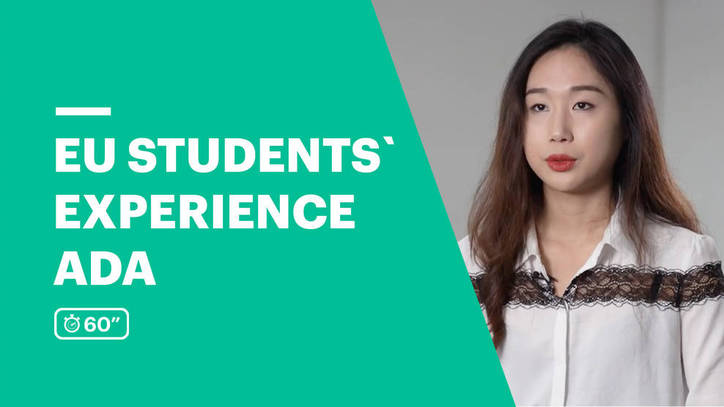 EU Business School Student Testimonial - Ada from China