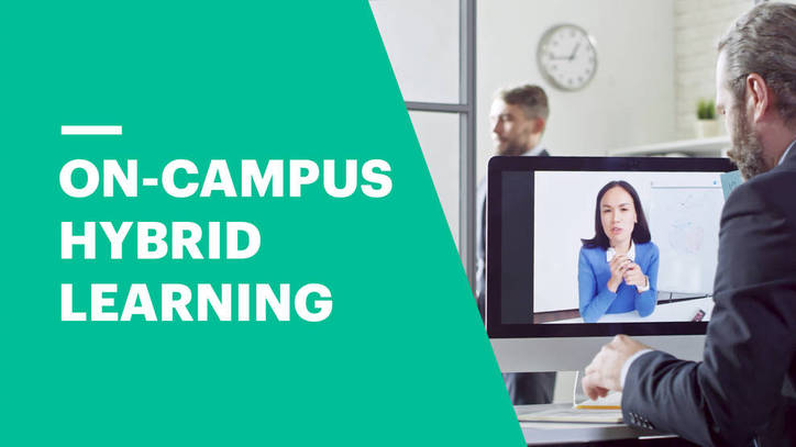 On-Campus Hybrid Learning at EU Business School