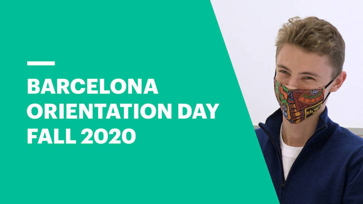 Barcelona Orientation Day Fall 2020