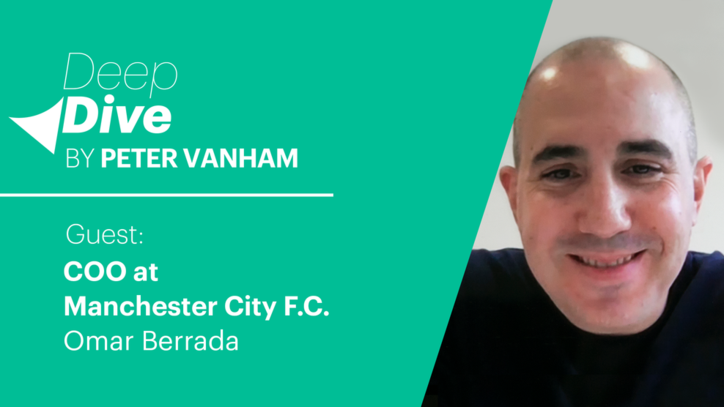 Deep Dive with Omar Berrada, COO of Manchester City F.C.