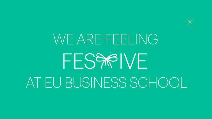 Happy Holidays from EU Business School