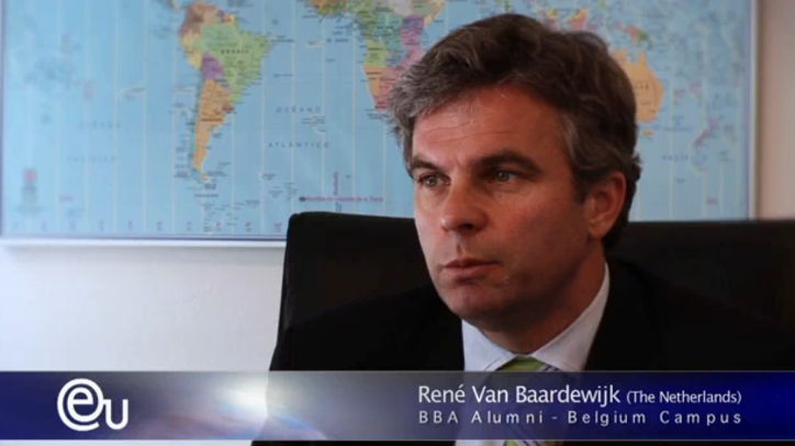 Interview with Bachelor Alumnus René van Baardewikk