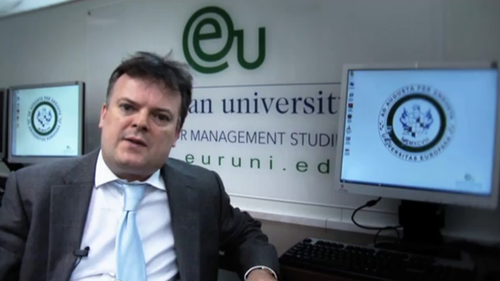 Interview with lecturer John Dalton - Corporate Responsibility - EU Business School Barcelona