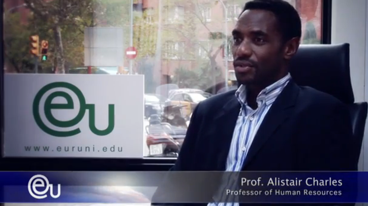 Interview with Bachelor/MBA Lecturer Alistair Charles - EU Barcelona