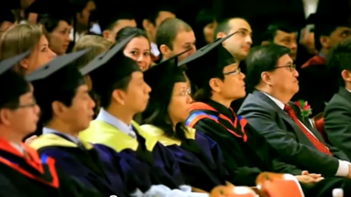 Graduation Ceremony 2010 - International Business School, Singapore - MBA/Bachelor - EU Business School